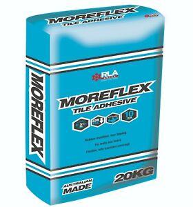 FLOOR & WALL TILE ADHESIVE - RLA MOREFLEX