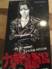 1/6 Ryushin Kunoh WORST Figur Medicom RAH 4th Generation President No Hot Toys