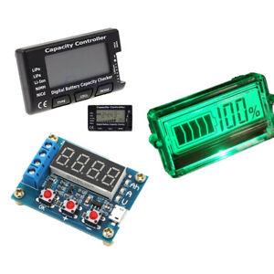 Digital LCD Display Battery Capacity Tester 18650 Battery Capacity Meter Module