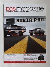 Canon EOS magazine Apr-Jun 2017 Cars/Exposure/EOS77/800D/M6/EF-S 18-55 f4-5.6 IS