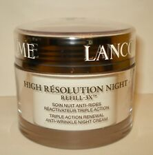 Lancome High Resolution Refill-3X Triple Action Night Cream 2.6 oz Exp. 01/2019