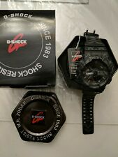Casio G Shock 5146 Ga-110tp Black Tribal With Black Face Antimagnetic Watch