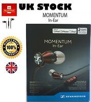 New Sennheiser M2IEi Momentum In Ear Headphones for ios iPhone Smartphones Red