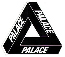 Palace Tri-Ferg Skateboard Sticker Black skate snow surf bmx skateboarding hype