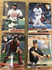1993 Fleer Ultra Baseball Lot Of 100