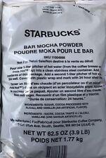 1x Starbucks Bar Mocha Powder 3.9 Pound (LB) Bag (April 2018 Fresh Date)