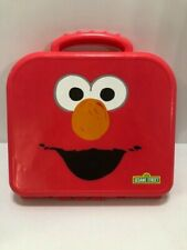 Elmo On The Go ABC Alphabet Letters Red Carrying Case Sesame Street