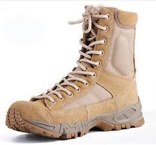 Mens Womens Waterproof Army Tactical Boots SWAT Combat Hiking Climbing Work Shoe
