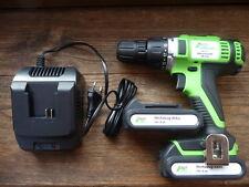 2 Gang Akkuschrauber inkl. 2 Stück 18V Li-Ion-Akkus und Schnell-Ladegerät