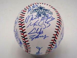 2010 NL ALL STAR TEAM SIGNED BASEBALL AUTOGRAPH BY 32 ROY HALLADAY + MLB CERT
