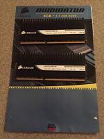 Corsair Dominator 2x 2GB DDR3 4GB RAM kit