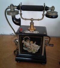 TELEPHONE ANTIQUE Ericsson AS300 K.T.A.S.  Circa 1910. Romantic Decal