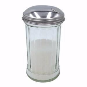 Sugar Pourer with Chrome Top, 12 Ounce