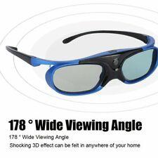 Universal Active Shutter Type 3D Glasses DLP Link 3D Projector Glasses HD Len MO