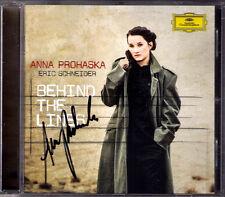 Anna PROHASKA Signiert BEHIND THE LINES Mahler Kurt Weill Eisler Ives Schumann