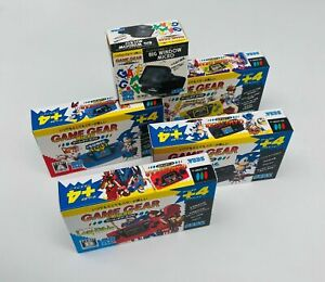 SEGA Game Gear Micro 30th Japan Limited Edition set di 4 colori con lente bonus