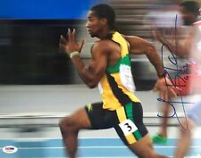 Yohan Blake Jamaica 2012 Olympics Signed 11x14 Photo Psa/Dna X73519