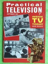 PRACTICAL TELEVISION - September 1967 - Inside TV Today - Electronics Magazine