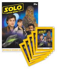 Topps - SOLO: A Star Wars Story - Sammelset Album + 5 Booster Tütchen deutsch