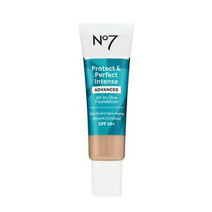 No7 Protect & Perfect Intense Advanced All In One Foundation 30ml - Cool Beige