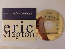 CD Single ERIC CLAPTON Wonderful tonight  PROMO 1836