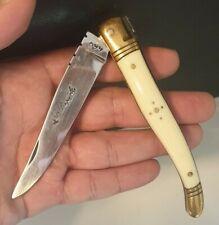 Ancien Couteau LAGUIOLE SANGLIER - Pocket old knife