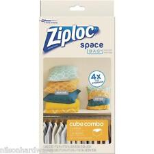 Ziploc Space Bag Vacuum Seal Cube Combo Storage Bag