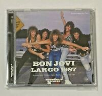 Bon Jovi BRAND NEW 2CD LARGO 1987 Maryland USA 1987 Soundboard