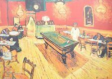 van Gogh Cafe di Notte Poster Kunstdruck Bild 61x76cm