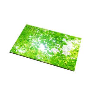 Fresh Green Leaves Kitchen Area Rugs Non-Slip Mat Durable Doormat Soft Carpet