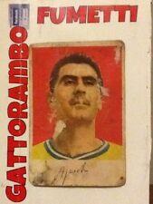 Figurina Cartonata N.169 Aguzzoli Modena Rarissima-Ed.Edj Calciocampioni