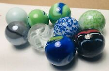 LOT vintage MACHINE MADE MARBLES SHOOTER