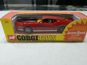 CORGI TOYS.     JAMES BONDS FORD MUSTANG MACH 1