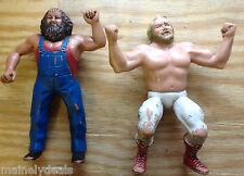 """Vintage WWF LJN Titan Sports 8"""" Wrestling Figure Lot Hillbilly Jim/ John Stud!"""