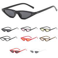 Vintage Sunglasses Women Samll Cat Eye Designer Sun Shades Retro Eyewear UV400