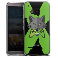 HTC One M9 Silikon Hülle Case Handyhülle - VfL Wolfsburg X eSport