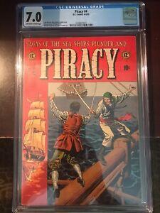 April - May, 1955 - Piracy #4 - CGC Grade 7.0 (Golden Age)