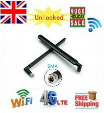 2Pcs 4G Antenna w/ SMA Connector for B593 / B310 also for Other Huawei Routers B