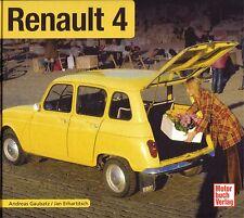 Book - Renault 4 R4 1961 1994 - Brochure Photos - Gaubatz - L TL GTL Van Super