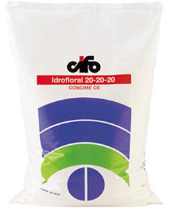 CIFO IDROFLORAL CONCIME NPK 20-20-20 PER FERTIRRIGAZIONE E FOGLIARE 10 KG