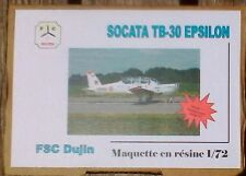 FSC DUJIN 1:72 SOCATA TB-30 EPSILON RESIN MODEL KIT PORTUGAL!! FREE SHIPPING!!
