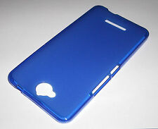 Funda Carcasa Gel Flexigel TPU Mate Alcatel Vodafone Smart 4 MAX Azul Oscuro