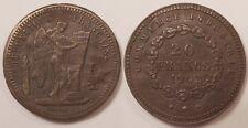 Jeton imitation de la 20 Francs or Génie, Commerce & industrie, 1902 !!