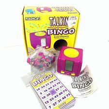 1995 Radica TALKING BINGO Electronic Game - Original Box - Tested & Working
