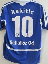 Schalke 2007-2008 Home Football Shirt Size Large Boys Rakatic /39144