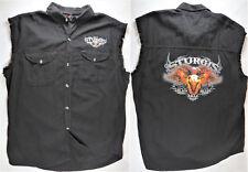 HOT LEATHERS Mens Shirt Jacket STURGIS 2012 Black Hills Rally Black Graphic XXL