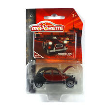 Majorette 212052010 Citroen 2CV rot/schwarz - Vintage 1:64 Modellauto NEU!°