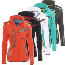 Geographical Norway Romantic Damen Softshell Sport Funktions Regen Outdoor Jacke