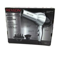 Revlon Heat 1875W Perfect Heat Shine Booster Hair Dryer  Faster Drying Open Box