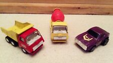 Vintage DIE-CAST TONKA Toys - Cement Mixer, Truck (55010), pull back Car - Japan